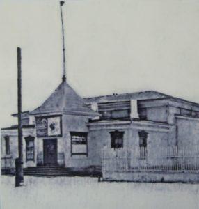 Здание старого клуба. Зубчаниновка, Самара.