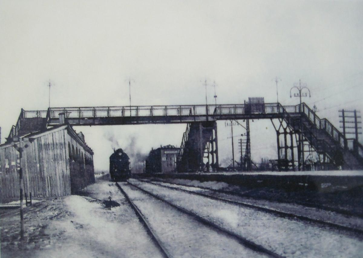 Старая ЖД платформа в Зубчаниновке, Самара.