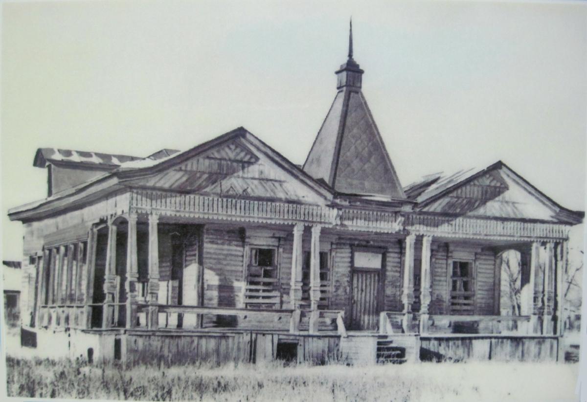 Старая пожарная часть Зубчаниновки