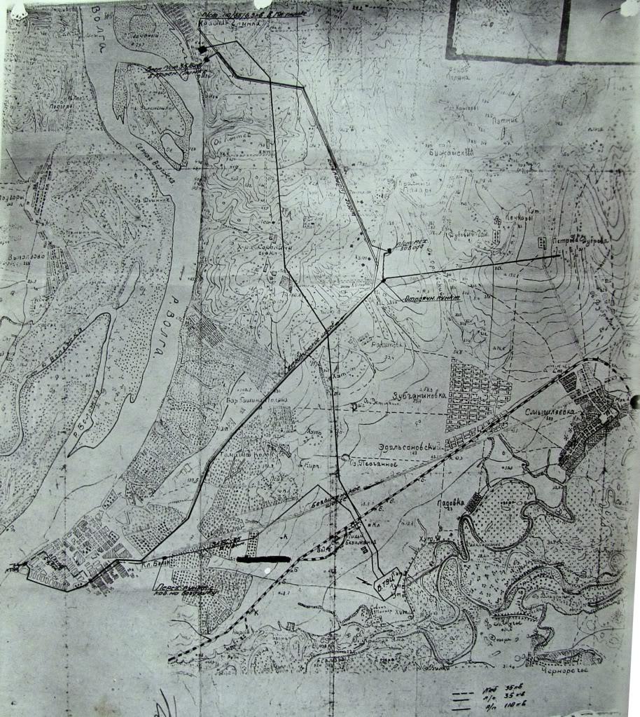 Карта Самары, 1928 год.