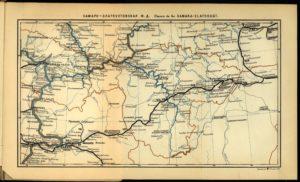 Общая карта Самаро-Златоустовской ж.д.