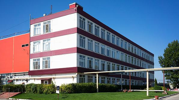 Главное здание завода Кока Кола в Самаре.