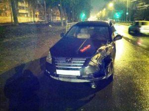 Фото аварии 17.04.17 в Зубчаниновке.