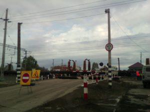 Ремонт переезда в Зубчаниновке 4 мая 2017 г.