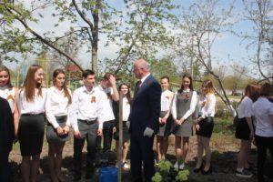 Урок экологии в ЗУбчаниновке - май 2017 г.
