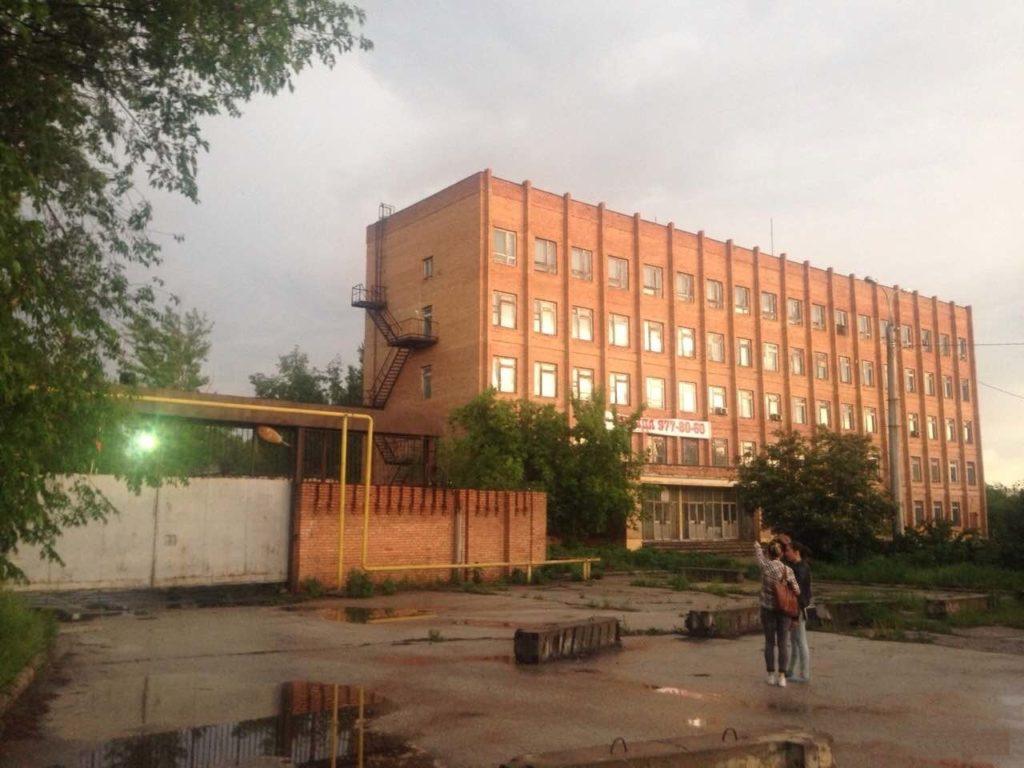 АртЗавод в Зубчаниновке (Самара) - главный корпус.