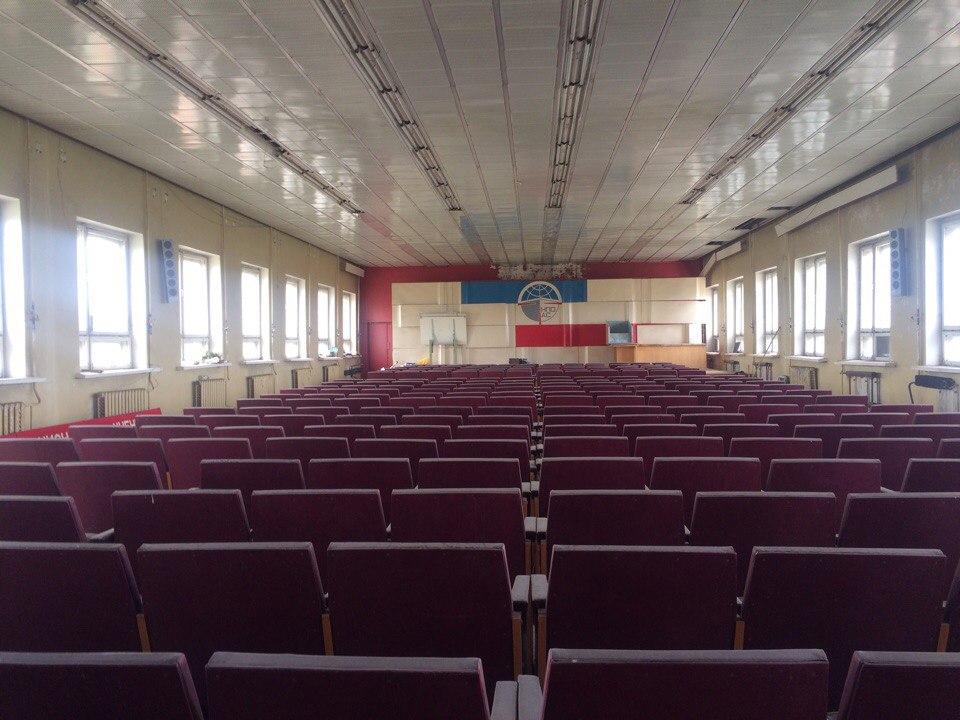 АртЗавод в Зубчаниновке (Самара) - актовый зал
