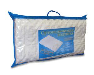 Иллюстрация подушки из натурального латекса.