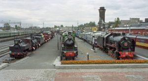 Поезда - музей РЖД в Зубчаниновке.