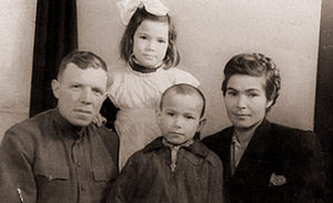 Фото семьи Буранок из Зубчаниновки