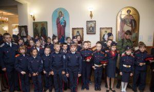 Слёт кадетов в Зубчаниновке