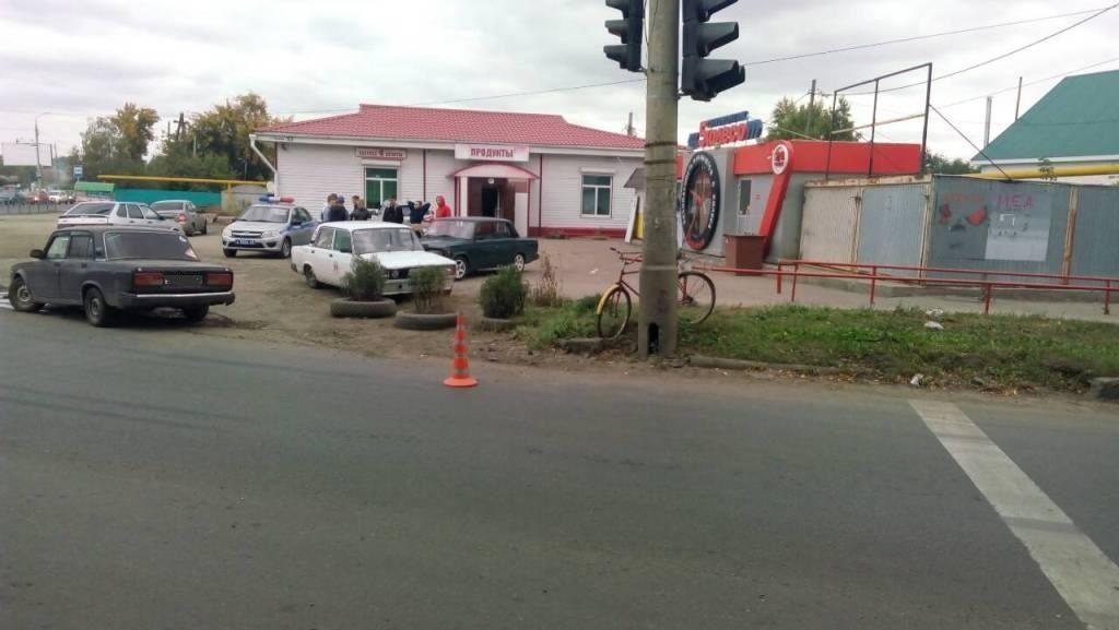 ДТП с велосипедистом в Зубчаниновке 27 сентября 2018 года - Зубчаниновка.ру